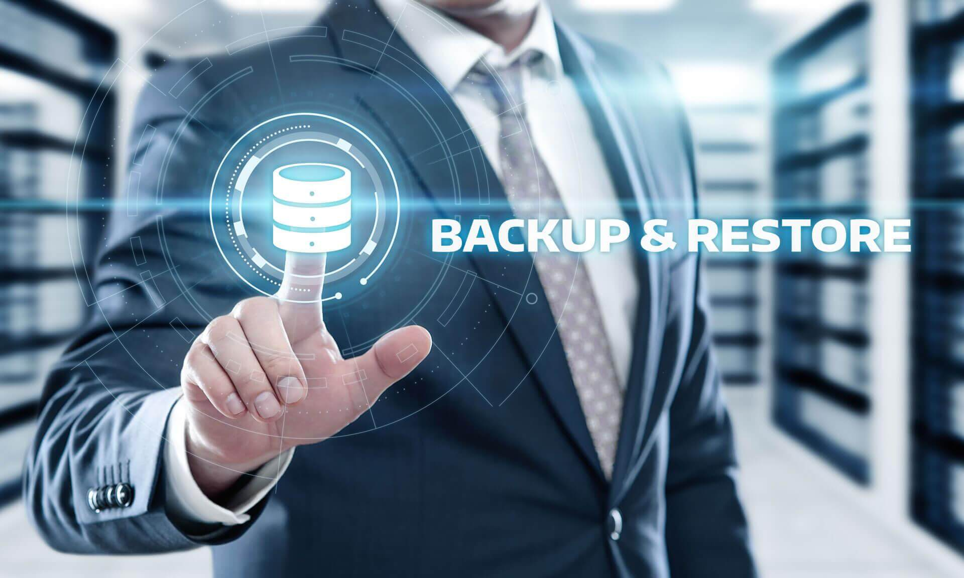 Nexetic backup & restore